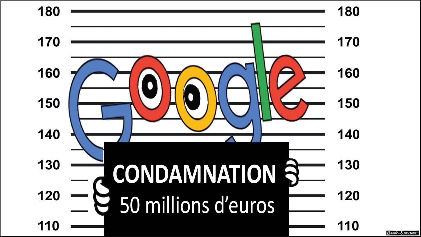 Google amende CNIL